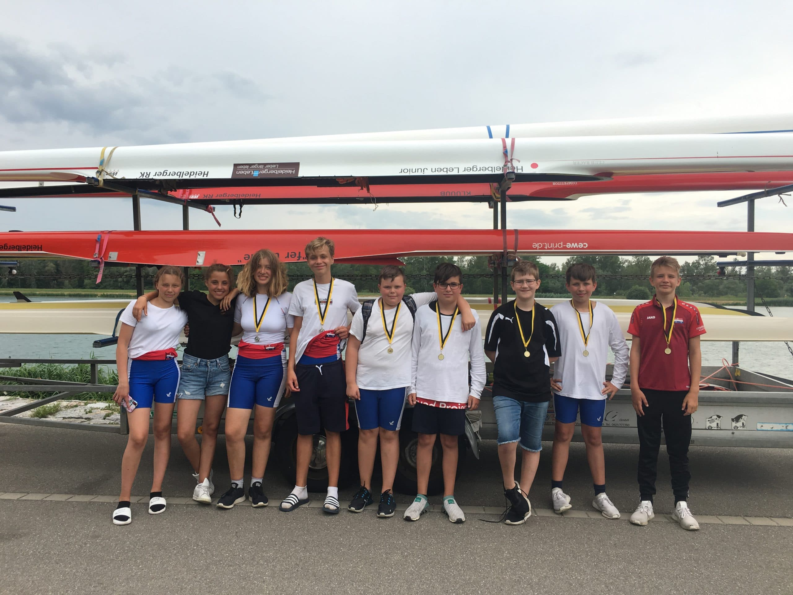 Die erfolgreichen C-Junioren des HRK in Breisach