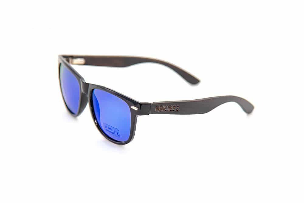Hochwertige Sonnenbrille aus Teilholz und 100% Schutz vor UV-Strahlen