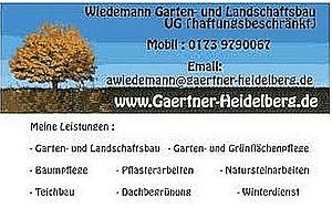 Wiedemann Garten- und Landschaftsbau wird Partnerbetrieb des HRK-Unternehmensnetzwerkes
